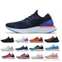 Erkek Ayakkabı Epik Reaksiyon Tasarımcı Kadınlar Sinek Plaj Örgü Sprite Belçika Alacakaranlık Dawn Betrue Oreo GS Runner Spor Sneakers ACE Boyutu 36-45