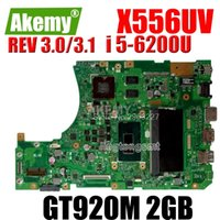 X556UV-Motherboard-Rev: 3.1 / 3.0 -6200U GT920M 2GB für Asus X556U x556ur Laptop-Motherboard X556UV-Mainboard