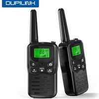 Walkie Talkie Radio Station Handheld 2PCS Walkie Talkie civil Portable Radio Communicator LCD Two Way For Family Road Trip