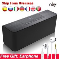 NBY 5540 Беспроводной Protable Bluetooth-динамик FM Radio Sub WOUFER LOMODSPEALD 3D Стерео Boombox Компьютер Bass Двойные динамики TWS1