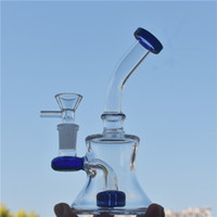 Glass Bongs 7. 5' ' recycler bubbler glass bong inli...