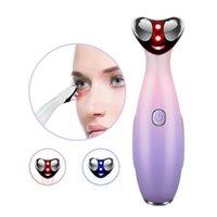 RF Elettrico Eye Massager Faccia Sollevamento Anti-Agente rughe Dark Circle Vibrazione Facciale Vibrazione USB Dispositivo di massaggio ricaricabile USB