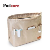Портативный кошелек организатор путешествия косметический чехол для женщин дизайнерская сумочка Multi Cokets Compartments Organizator Maquillaje 201201