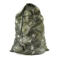 Pato Turquia Decoy Ganso Armazenamento Verde Net Saco Malha com alças de ombro Mochila de caça ao ar livre 126cm * 77cm (l * w) q0114