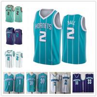 الرجال Lamelo 2 الكرة جيرسي شارلوتهورنتخمر Muggsy 1 Bogues Larry 2 Johnson 30 Curry Alonzo 33 الحداد قمصان كرة السلة