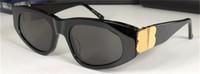 Uomini Occhiali da sole Design moda Eyewear 0095 Cat Eye Frame Style Top Quality UV400 Occhiali protettivi con custodia nera