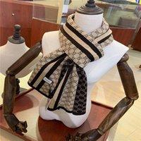 2020 Nouvelle automne et hiver Classic Lettre Foulard Mode Fête de tempérament assorti pour la taille 180 * 30cm