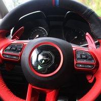 Nuevo para Mingjue MG6 Rehabilitación del volante del volante de la revestimiento de la paleta de la paleta Modificación del interior Modificación del interior Sticking Stickin Sticking
