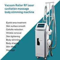 CE Onaylı Vakum Rulo Kavitasyon Zayıflama Makinesi Infrard Lazer Cilt Sıkma Sistemi N8 RF Güzellik Ekipmanları
