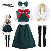 Anime Kostümleri Danganronpa 2 Umutsuzluk Sonia Nevermind Cosplay Elbise Kadın Parti Cadılar Bayramı Kostüm JK Okul Üniforması ve Wig1