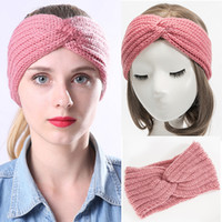 2020 New Crocheted Winter Solid Crochet Knitting Wool Women ...