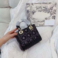 5A + Hohe Qualität Crossbody Taschen Goldene Logo Klassische Taschen Messenger Bags Hohe Qualität Frauen Umhängetasche Boutique Frauen Tasche Einkaufstasche