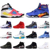 2021 Jumpman 8 8S Мужская баскетбольная обувь SE Мультицветный Doernbeher Ovo Белый Три торфяные Хромированные Снежинки Тренеры Кроссовки