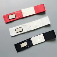 3 style rouge noir rouge lettre de marque Prind bande bandeau élastique pour femmes et hommes bandes de cheveux pour femmes fille rétro Turban Headwraps