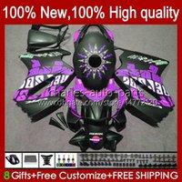 Corps pour Honda Interceptor plat violet VFR800 RR 02 08 09 10 11 12 100HC.135 VFR 800 RR VFR800RR 2002 2003 2004 2006 2006 Kit de carénage 2006