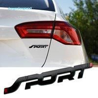 3D Metal SPORT Nameplate Car Trunk Hood Word Letters Logo Badge Sticker For Renault Mazda Mitsubishi Ford Focus Mondeo EXPLORER