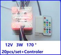 Módulo de LED do pixel do teto do filme macio 12V SMD 3030 6 pcs 3w IP65 (20 módulos + 1 driver / conjunto) impermeável