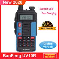 Walkie Talkie Baofeng 30 км UV10R 128 канал VHF UHF Двухменная полоса 2 пути CB HAM RADO UV-10R Лучше, чем УФ 5R UV-82
