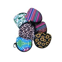 Neopren Yüz Maskeleri Çanta Unisex Fonksiyonlu Kulaklık Para Çantası Katı Renk ve Renkli Taşınabilir Facemask Değişim Çanta Çanta Totes F102201