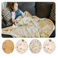 Mexiko-Tortilla-Decken 3d gedruckt Sommer Klimaanlage Bettwäsche Decke Badetuch Weiche Yoga-Matte Teppich 60 Zoll YHM53-1-Zwl