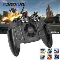 Pour PUBG Gamepad Game Controller For Mobile SmartPhone contrôleur de jeu l1r1 Shooter Trigger Bouton Free Fire Feu