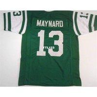 Erkekler Don Maynard # 13 Dikişli Dikişli Retro Jersey Tam Nakış Jersey Boyutu S-4XL veya Özel Herhangi Bir Ad veya Numara Forması