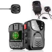 كاميرات الفيديو 20 ساعة وقت تسجيل 1296P 2304 * 1296P UHD 16X تكبير الجسم كاميرا فيديو مسجل فيديو DV الأمن البالية مع خارجي