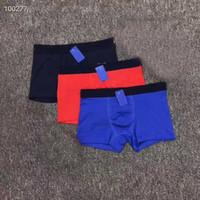 Haute qualité hommes sous-vêtements Boxer Shorts coton mâle Boxer Boxer Sous-vêtements pour hommes Gay Sous-vêtements Boxershorts Soft Hommes Boxers Boxers Sous-potes masculins