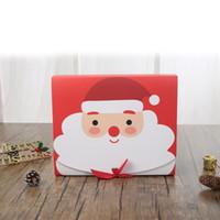 Sunar Şekerler Çerezler Paketi Noel Tema Hediye Paketleme Çanta KKF2039 için Özel Tasarım Yeniden kullanılabilir Craft Kağıt Kutuları ile Noel Hediyesi Çanta