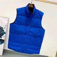 Daunenjacke Weste Halten Sie warme Herren Stylist Winterjacke Mode Weste Männer und Frauen Verdicken Außenmantel Essential Kaltschutz Größe S-2XL