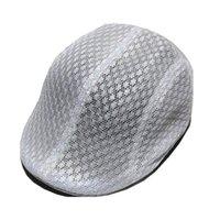 للجنسين الصيف الجوف خارج تنفس شبكة القبعات موزع الصحف Gorras بلاناس شقة كاب القبعات Dirving عارضة خمر قبعة