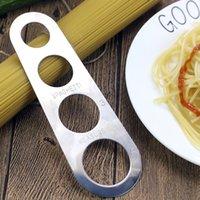 Spaghetti Mesure Outils Outils de commande de composants faciles Cuisine Accessoires de cuisine Pâtes Outil de mesure Outil en acier inoxydable Fournitures de cuisson 375 N2