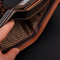 Business Card Holder For Men Wallet Male Purse Cuzdan Small ...