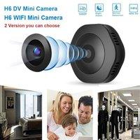 Mini Kameralar H6 HD WIFI 1080 P Küçük Kamera Gece Görüş Hareket Mikro Algılama Kamera Home Pk C1 C61