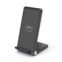 15 W Hızlı Kablosuz Şarj Ped Katlanabilir 10 W Qi Şarj Standı iphone 12 Pro Max XS Samsung S20 Note10