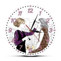 ماكياج لاش الأعمال جدار الفن ساعة موردين تصميم رمش ملحقات ووتش مخصص صالون الصالون اسم الشركة zegar scienny1
