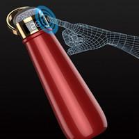420ml Isolierte Wasserflasche mit Temperaturanzeige Diamant-Cup Double Wall Isolierkannen Thermosbecher Kaffeetasse Geschäfts-Geschenk YYA501