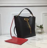 Borse di design Designer Designer Borse Designer Portafoglio Fashion Pelle di Alta Qualità Pelle di vitello Medio Shopping Bag Genuine Pelle Secchio Borsa