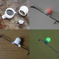 Оптовые 10 шт / Лот Рыбалка LED Rod Совет Night Light Забастовка оповещения Glow Стик Укус сигнализации