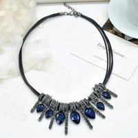 الهدايا الملحقات المحمولة والمجوهرات الساحرة الديكور حزب سبيكة collarbone نادي المرأة necklace1