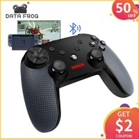 DATA FROG For Switch Wireless Bluetooth Game Controller Gamepad For PC Game Joystick Bluetooth Controller