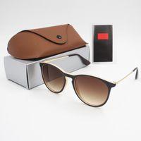 1 unids Moda Gafas de sol Toswrdpar Eyewear Gafas de sol Diseñador Para Hombre Casas Marrones Marrones Negro Metal Marco Oscuro 50mm Lentes para