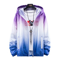 Summer Windbreaker Women Jacket Sun- protective Clothing Casu...
