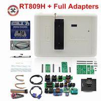 진단 도구 100 % 원래 RT809H 유니버설 프로그래머 EMMC-NAND 플래시 36 어댑터가 가득 찬
