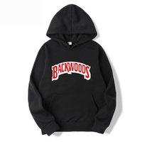 2020 Yeni erkek Hoodie Backwoods Kırmızı Mektup Baskı Erkekler ve Kadın Kapşonlu Rahat Giyim Kazak Spor Asya Boyut S 3XL Y0119