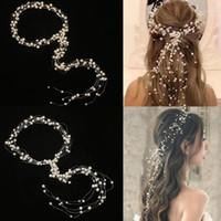 Зажимы для волос Barnettes 2021 Западная свадьба мода невеста головной убор ручной работы корона цветочные жемчужные аксессуары шпильки орнаменты1