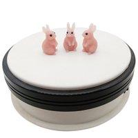 Talco naturale intagliato a mano coniglio carino animale ornamenti per ufficio accessori per la casa in cristallo agata pietra scultura collezione art guarigione