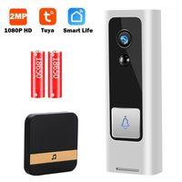 Türklingel 1080p HD Mini-Video-Türklingel-Kamera-Türklingel Wireless WiFi Smart Home Intercom-Zwei-Wege-Audio-Tuya-Life P2P1