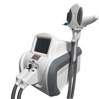 Profesyonel 2 in 1 ND YAG Lazer Dövme Temizleme Makinesi IPL Lazer Opt SHR Hızlı Epilasyon Tedavileri Güzellik Ekipmanları Salon Ev Kullanımı