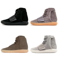 yeezy yeezys yezzy yezzys yzy Grey Colorway Bashful Chocolate 750 Triple Negro Marrón Red Hombres Mujeres Zapatos de invierno Kanye Wests Botas de resplandor Sole Sneakers